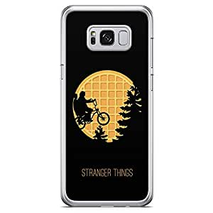 Loud Universe Flying Bike Samsung S8 Case Upside Down Stranger Things Samsung S8 Cover with Transparent Edges