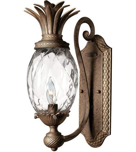 Wall Sconces 1 Light Fixtures with Pearl Bronze Finish Cast Aluminum Material Candelabra 6