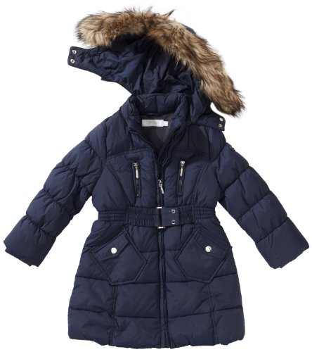 Navy Girls Coat