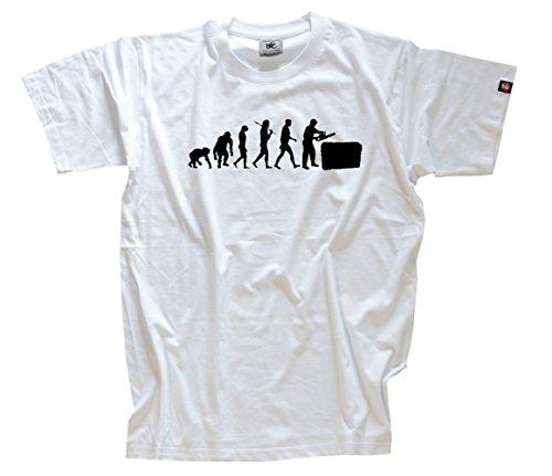 Heckenschneider Grünflächenpflege Gärtner Heckenschere Evolution T-Shirt Weiss L
