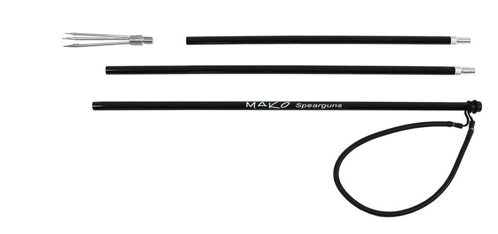 MAKO Spearguns 7' Pole Spear with 5 Prong Paralyzer Barb Tip