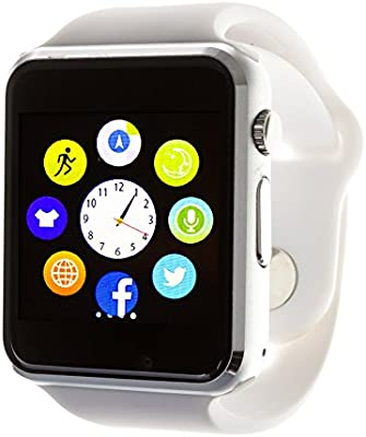 DAM TEKKIWEAR. G08 SMARTWATCH.4x1x4,5 cm. Color: Blanco ...