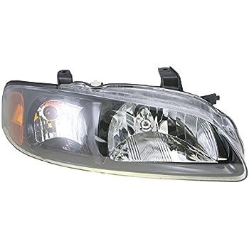 Headlamp Headlight RH Right Passenger Side For 02-03 Nissan Sentra SE-R