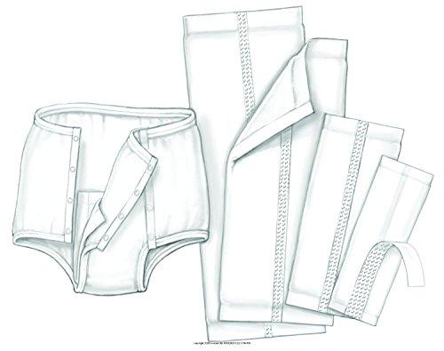 Kendall Handicare Garment Liner, Light Absorbency 6-1/2