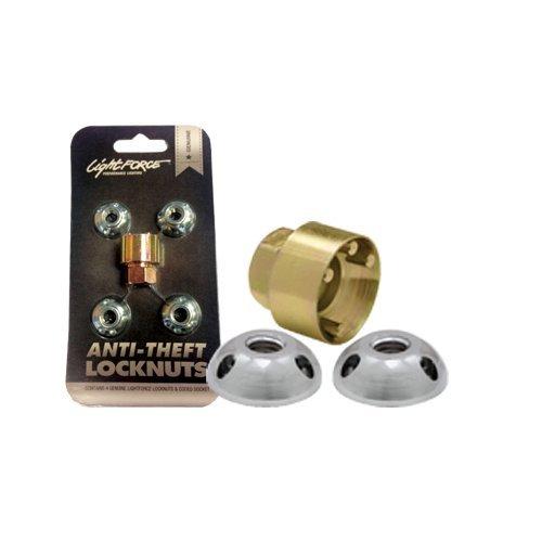 ATN10MM Anti-Theft Locknuts