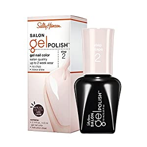 Sally Hansen Salon Pro Gel, Shell We Dance, 0.25 Fluid Ounce