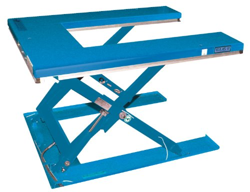 Vestil-EHU-3-Low-Profile-U-Type-Electric-Lift-Table-115V-3000-lb-Capacity-63-x-53-12-Platform-4-14-to-33-12-Height