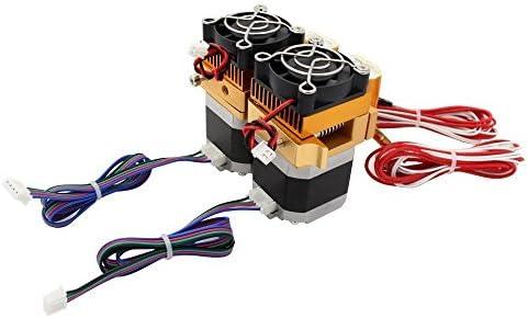 Anycubic MK8 Doble Extrusora Makerbot Cabezal de Iimpresión de 0,4 ...