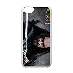 thorin oakenshield the hobbit iPhone 5c Cell Phone Case White gift z004hm-2314228