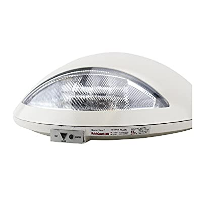 Sure-Lites AEL1WHSD 6-Volt Architectural Emergency Light with 6-Watt Xenon Lamps, White