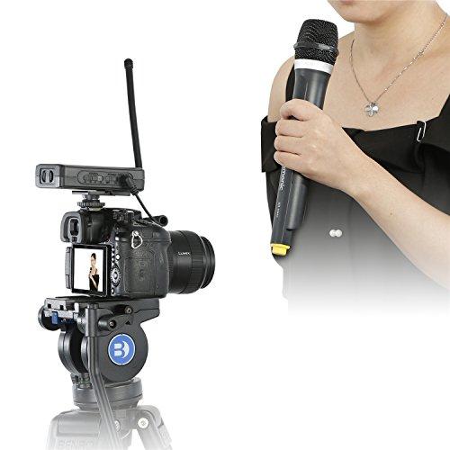 saramonic wm4ca professional portable wireless vhf handheld microphone system 615068639682 ebay. Black Bedroom Furniture Sets. Home Design Ideas