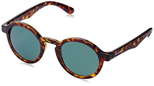 MR.BOHO, Cheetah tortoise dalston with dark green lenses - Gafas De Sol unisex multicolor (carey), talla única