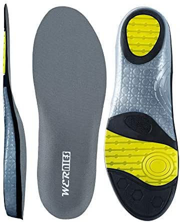 wernies Running Shoes Inserts for Men Women, Athletic Neutral Arch Comfort Insole