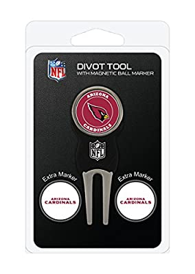 NFL Divot Tool Pack With 3 Golf Ball Markers by Team Golf