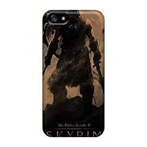 Protection Case For Iphone 5/5s / Case Cover For Iphone(skyrim)