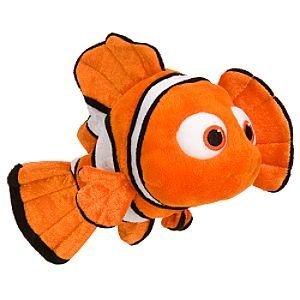 Disney Nemo Mini Bean Bag Plush (Clown Fish Bean Bag)
