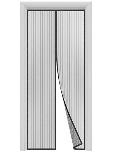 HONEYBULL Magnetic Screen Door [Up to 38x82