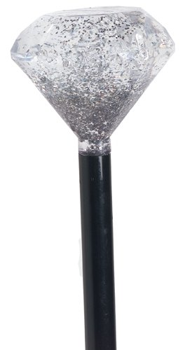 Rubie's Costume Diamond Headed Pimp Cane Costume, Black, One Size ()