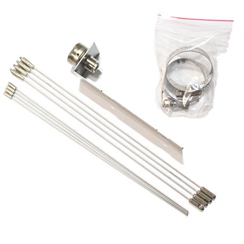 "Nagoya GPK-01 (21"" Radials) NMO Mount Ground Plane Kit for"