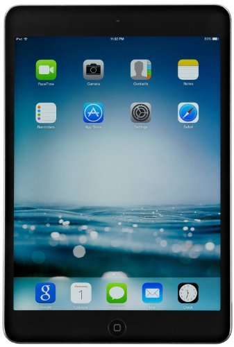 Apple iPad mini MD529LL/A Wi-Fi 32GB Tablet, Black (Refurbished)