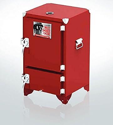 Lamberts Sweet Swine O'Mine Red Box Charcoal Smoker from Sweet Swine O'Mine Distributing