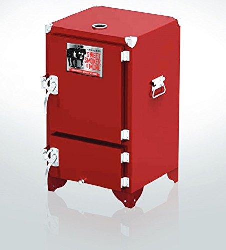 Lamberts Sweet Swine O'Mine Red Box Charcoal Smoker