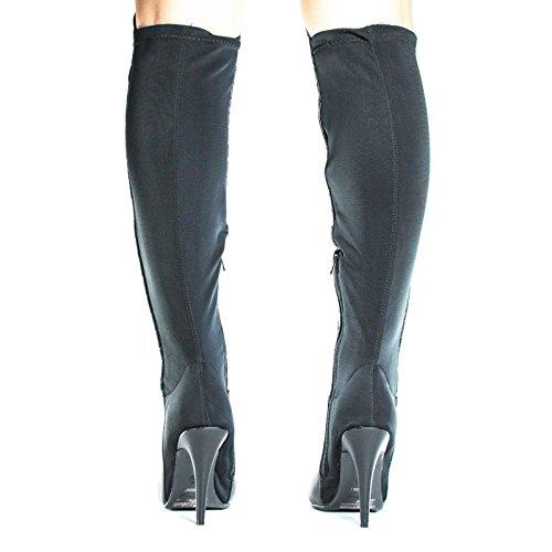 Over The Knee Pointy Toe Stiletto Heel Dress Boots #Lonestar34blackpu LhL6xbJum