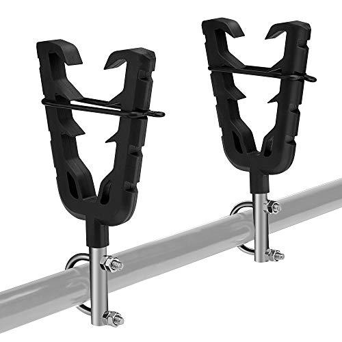 KEMIMOTO Gun Holder ATV Gun Rack for Polaris Sportsman Golf Moto Boat Bicycles (Best Gun Holder For Atv)
