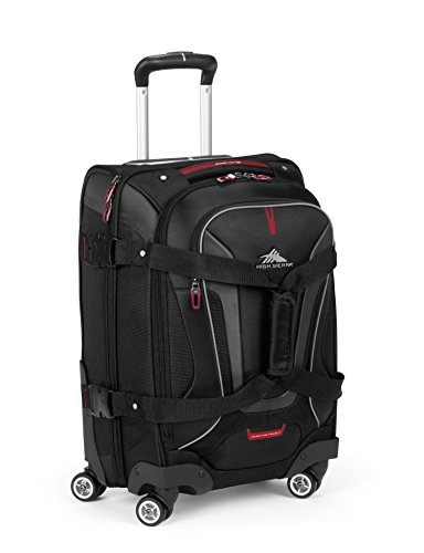 High Sierra AT7 Spinner Luggage, Black, 22-Inch by High Sierra