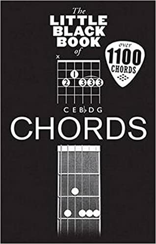 The Little Black Book Of Chords Little Black Songbook Amazon
