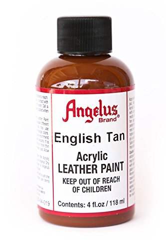 Angelus Acrylic Leather Paint-4oz.-English Tan