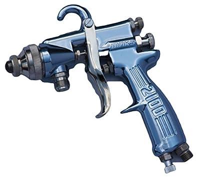 Binks 2100 Spray Gun 66SS 200 Air Cap 2101-4314-9 1.8mm Fluid Nozzle 200 Aircap