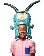 "SpongeBob Squarepants, Spongeheads, +20"" Tall Inflatable Wearable, Plankton"