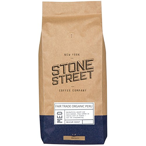 Organic FAIR Trade Peru Ground Coffee | 2 Lb Bag | Medium Full Body Roast | Single Origin Premium Peruvian Quality