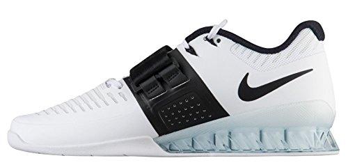 101 Adulte De Romaleos Chaussures Nike Mixte Blanc noir Gymnastique 3 RZqwxCpz