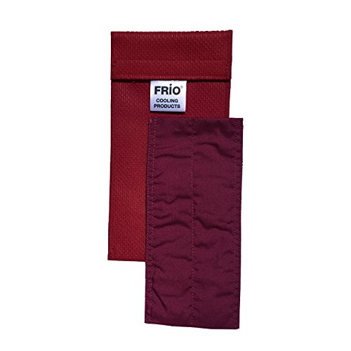 Frio Insulin Cooling Case, Reusable Evaporative Medication Cooler - Duo Wallet, Red