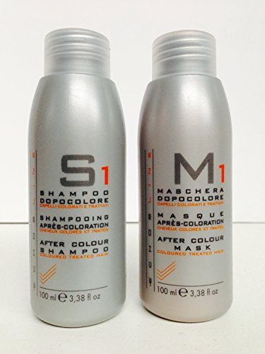 Price comparison product image Echos Line S1 After Color Shampoo 3.38 Oz and M1 After Color Mask 3.38 Oz