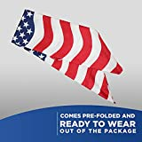 American Flag Bandana Headband USA Bandana USA Flag