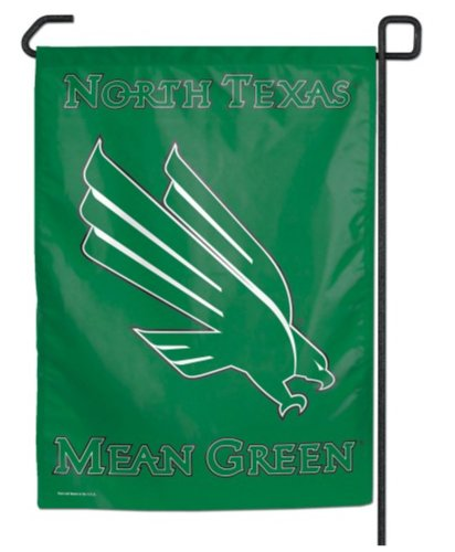 NCAA University of North Texas WCR10175115 Garden Flag, 11""