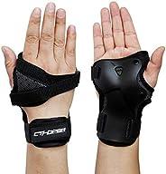 CTHOPER Impact Wrist Guard Protective Gear Wrist Brace Wrist Support for Skating Skateboard Skiing Snowboard M