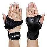 CTHOPER Impact Wrist Guard Protective Gear Wrist Brace Wrist Support for Skating Skateboard Skiing Snowboard Motocross Multi Sport Protection (S)