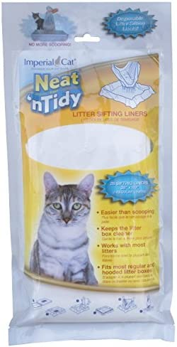 Imperial Cat Neat and Tidy,28 Litter Sifting Liners, 36 x 40, 2 Regular liners by Imperial Cat