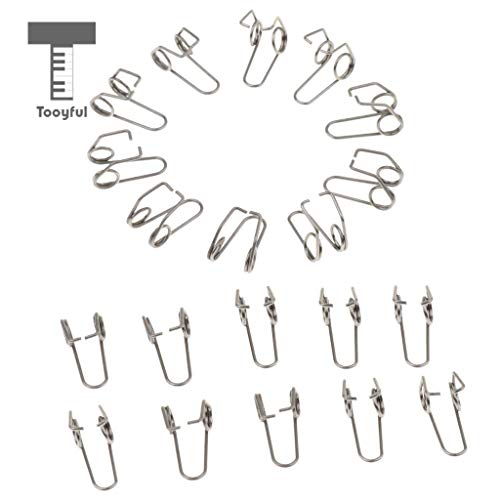 (Value-5-Star - 20 Pieces Trumpet Water Key Waterkey Spit Value Springs for Brass Instrument Parts )