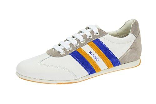 Geox Geox Andrea Schuhe in weiß Sneakers, Sneaker uomo Bianco