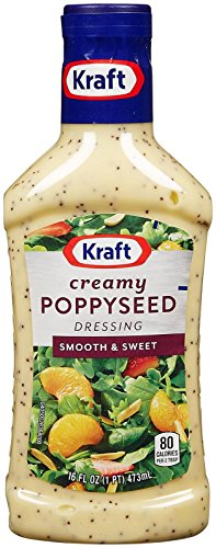 (Kraft Creamy Poppy Seed Dressing - 16 Ounces)