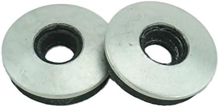 #10 Neoprene Epdm Bonded Sealing Washers Stainless Steel 18-8, Neo Bond, 100 Pieces, Works mit Both #8 und #10 Screws (#8 & #10)