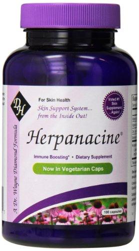 Diamond-Herpanacine Skin Support Veg Capsules with Antioxidant, 100 Count ()