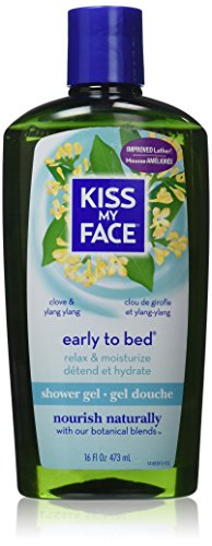 Total Wash Face - Kiss My Face: Bath & Shower Gel, Early To Bed 16 oz (2 pack)