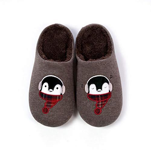 B Green Cotton Alte per b antiscivolo Soft Winter impermeabile bambini Pantofole 205mm PHUW5xdP