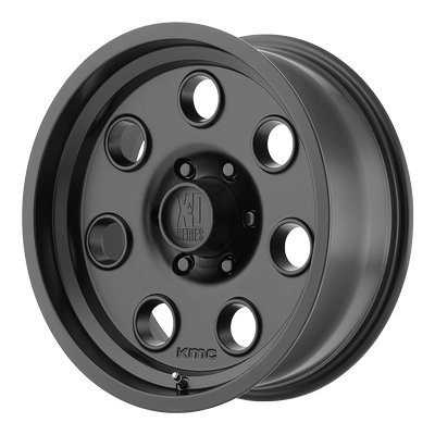 XD Series by KMC Wheels XD300 Pulley Satin Black Wheel (17x9''/5x150mm, -12 offset) by XD Series by KMC Wheels